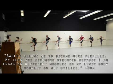 Football Players take Ballet HD