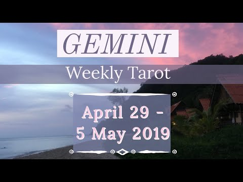 gemini weekly 29 to 4 horoscope tarot