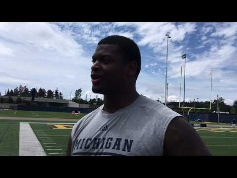 Aubrey Solomon is ready to get started at Michigan