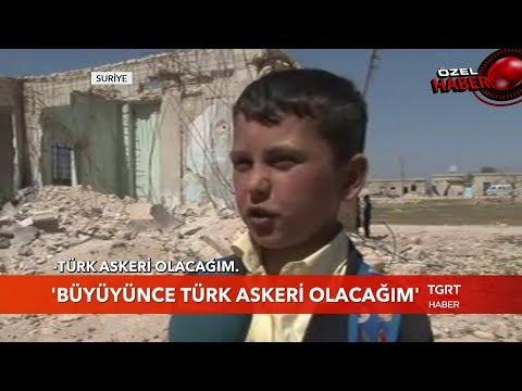 """Küçük Yahya Haykırdı: """"Büyüyünce Türk Askeri Olacağım"""""""
