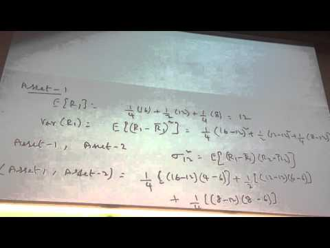 Intro to Portfolio management & Exchange Traded Derivative 07-10-2015 Part III
