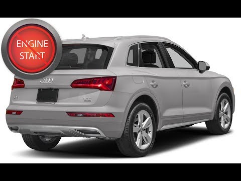 Audi Q5: Open and start the push button start model with a dead key fob battery. - YouTube