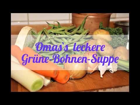 Grüne Bohnensuppe Kochen