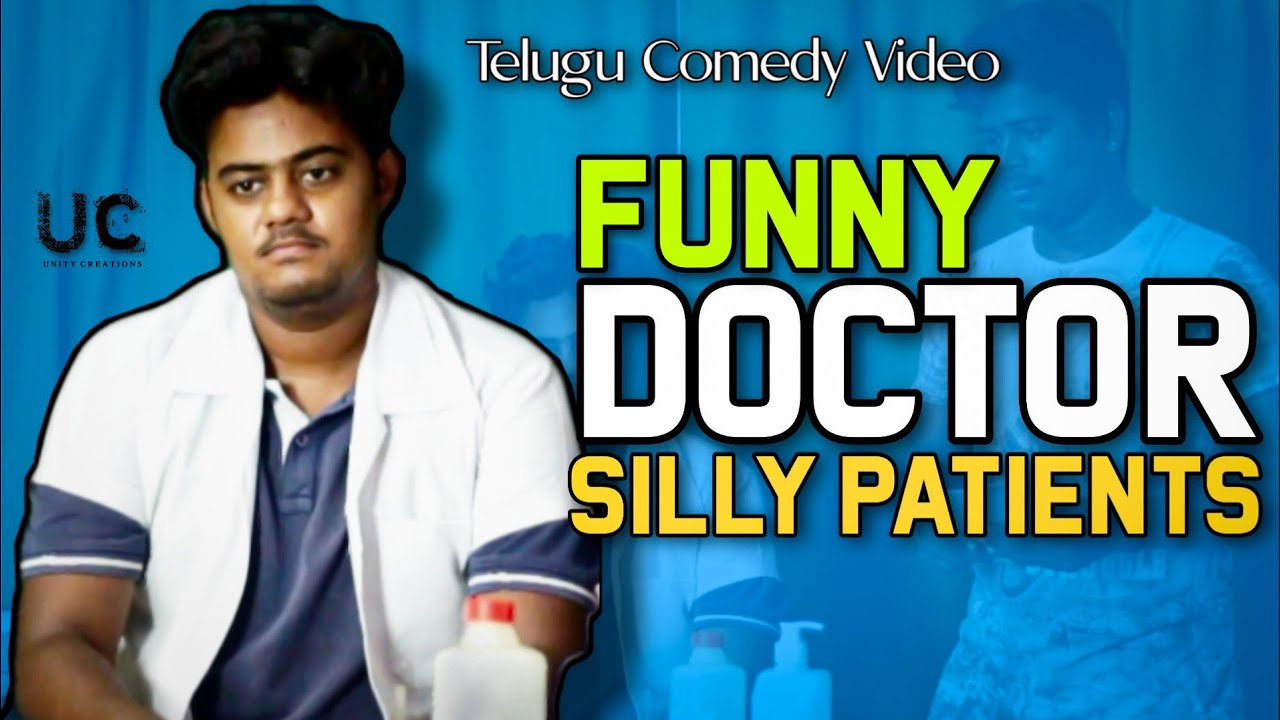 Download Funny Doctor and Patients    Telugu Comedy VIdeo    Unity Creations