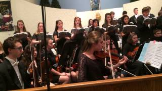 Handel's Messiah Mendham High School Violin Solo 2013
