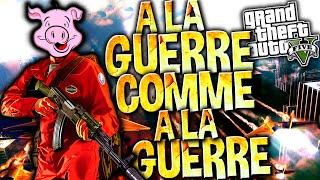 PS4: GTA V ONLINE | A la guerre comme à la guerre !