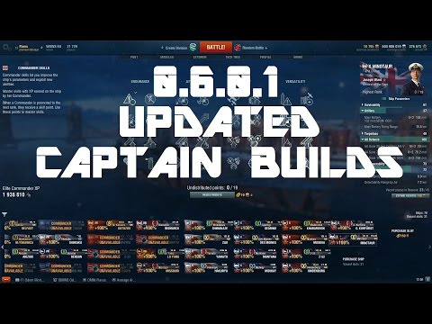0.6.0.1 Updated Captain Builds