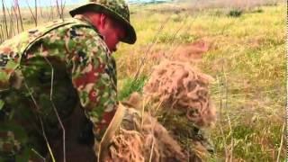 Marine Sniper Camouflage Techniques - Ghillie Suit