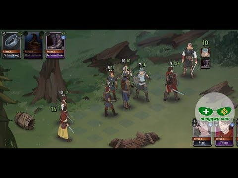 Ash of Gods: Tactics (Beta test) (Android iOS APK) - Strategy Gameplay