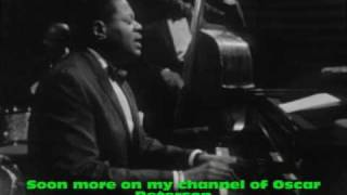 Oscar Peterson 1965 in concert part 1  Some Day My Prince Will Come