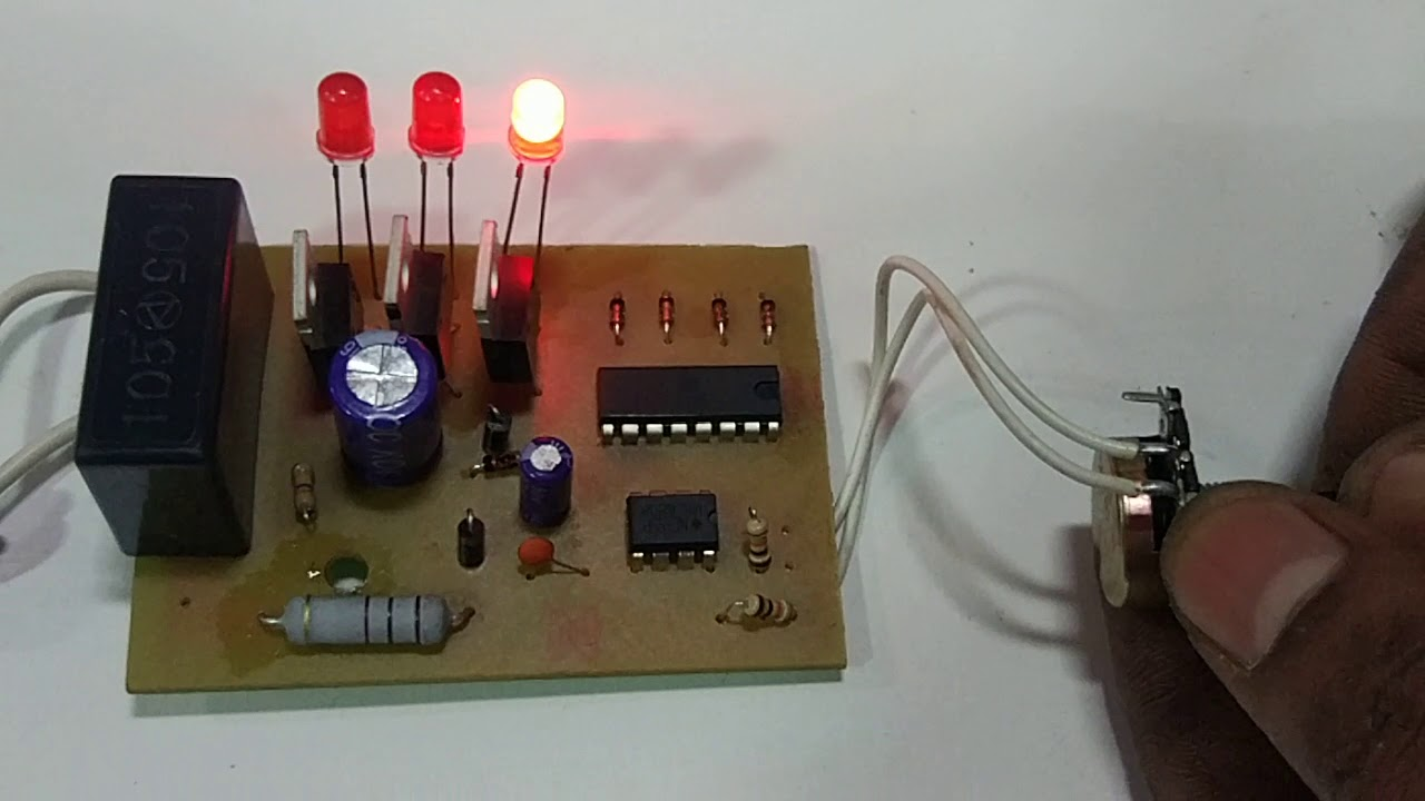 Running Light Chaser Circuit
