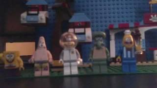 LEGO SpongeBob SquarePants Sings Poker Face(remake)
