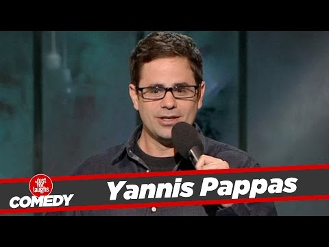 Yannis Pappas Stand Up - 2013 - YouTube