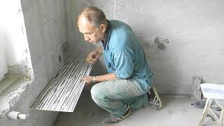 Укладка стильной плитки в ванной ч,8(раскладка)(, 2014-06-29T18:50:05.000Z)