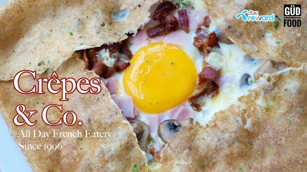 [dtac reward x Gud Food] : ร้าน Crêpes & Co.