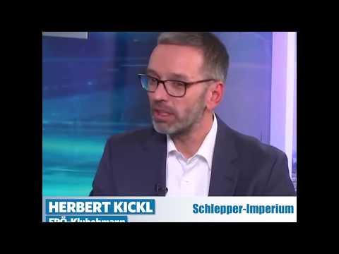 Herbert Kickl: Das Schlepperimperium schlägt zurück!