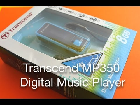 Transcend MP350 8 GB Digital Music Player