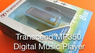 Transcend MP350 8 GB Digital Music Player