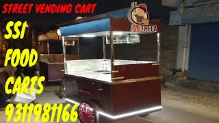 Gambar cover STREET VENDING CARTS# FOOD CARTS MANUFACTURER#INDIA/SAI STRUCTURES INDIA FOOD CART BUSINESS IN DELHI