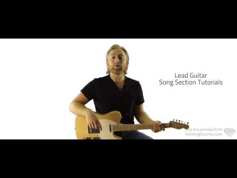 Somewhere On A Beach - Guitar Lesson and Tutorial - Dierks Bentley
