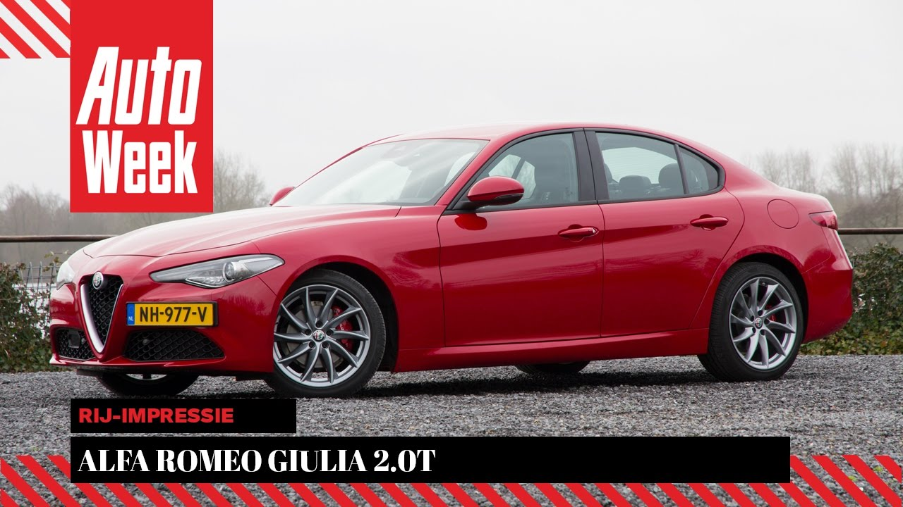 Alfa Romeo Giulia 2.0T - AutoWeek review - English subtitles