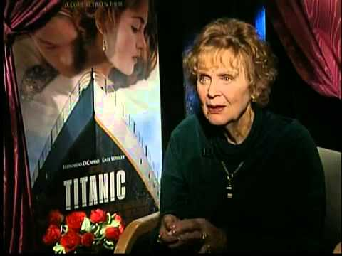 Gloria Stuart (Old Rose) Interview for Titanic in 1997