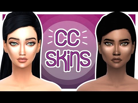 The Sims 4: CC Skin Showcase | How I Make my Sims Skins Look Perfect ♡