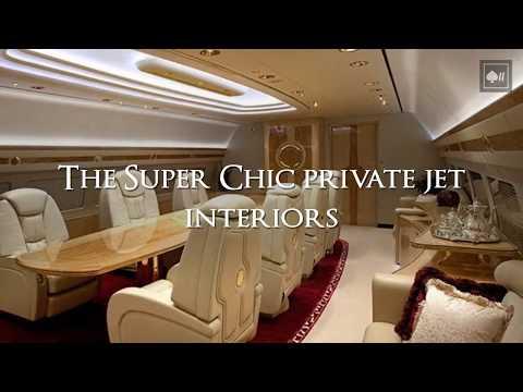 The Super Chic Private Jet Interiors