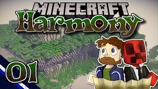 Minecraft: Harmony ▫ A Modded Co-op Adventure Begins! (Ep.01)