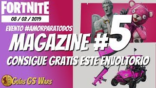 FORTNITE Magazine #5 ? LOVE Event FOR ALL AND FREE SHIPPING