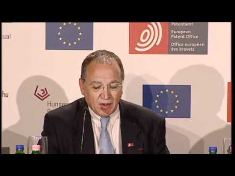 EPO President Battistelli about innovation and the economy - 2011