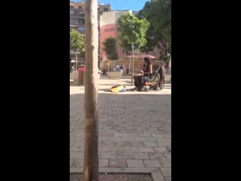 Street Music-- Malaga, Spain