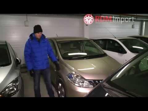 Характеристики и стоимость Nissan Tiida 2010 цены на машины в Новосибирске