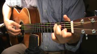 i will follow you ricky nelson cover finger style guitar chords no harmony