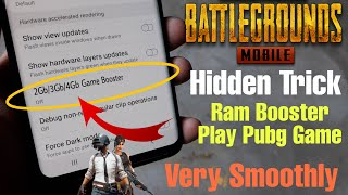 How Enable Ram Booster Mode || Play Pubg game Smoothly || Hidden Setting || 2gb, 3gb, 4gb Ram screenshot 5
