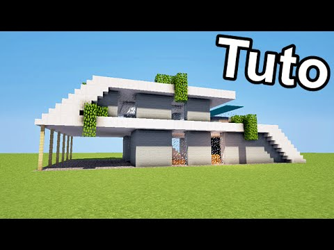 Minecraft tuto belle maison moderne download youtube - Tuto belle maison minecraft ...