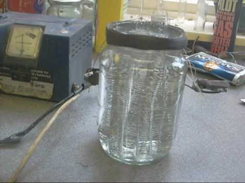 Home Made Hydrogen Cell