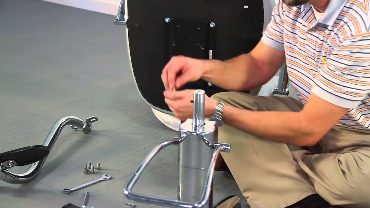 vantage styling chair assembly minerva beauty youtube