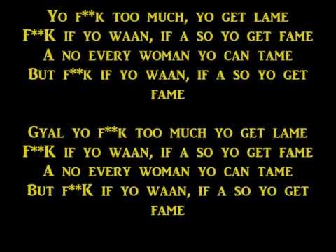 Vybz Kartel - No Games Lyrics [Raw] Sep 2013