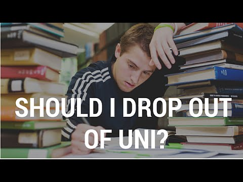 Should I drop out of college?