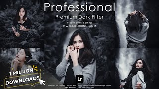 How to Edit Professional Photography | Lightroom Dark Presets DNG & XMP Free Download screenshot 4