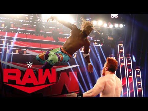 Kofi Kingston vs. Sheamus: Raw, Oct. 19, 2020