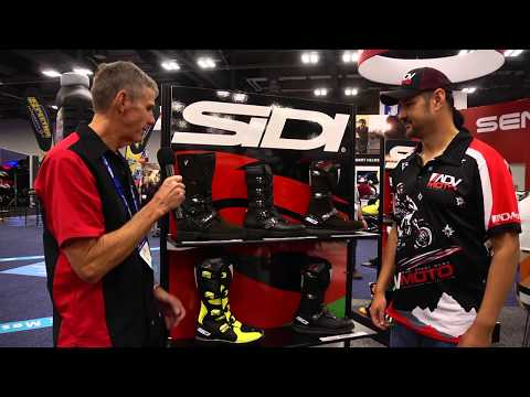 AIMExpo 2017 Day 2 Report - Sidi boots, Nexx, Shoei, Vemar Helmets and more...