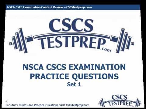 nsca-cscs-practice-questions