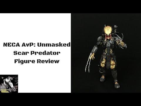 NECA Alien V Predator: Unmasked Scar Predator Figure Review