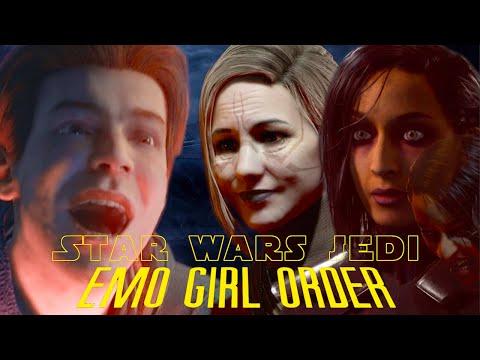 Star Wars Jedi Emo Girl Order