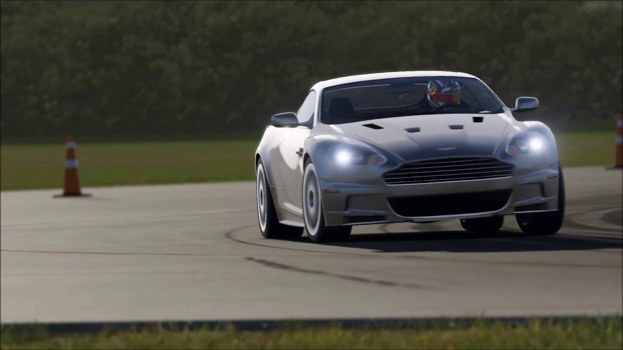 Aston Martin Old V New DB DBS Vanquish Forza YouTube - Old aston martin vanquish