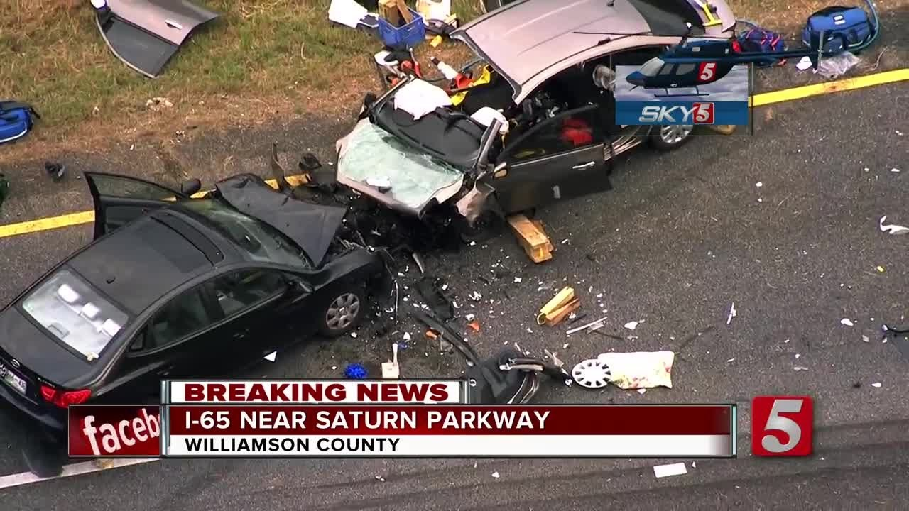 Crash Kills 1, Injures 2 Others On I-65 In Spring Hill