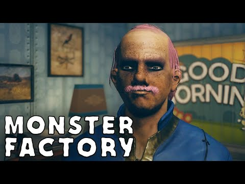 Freddy Slimeburger Jr. emerges from Vault 76 | Monster Factory