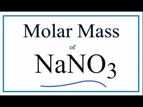Molar mass molecular weight of nano3 sodium nitrate youtube molar mass molecular weight of nano3 sodium nitrate urtaz Image collections